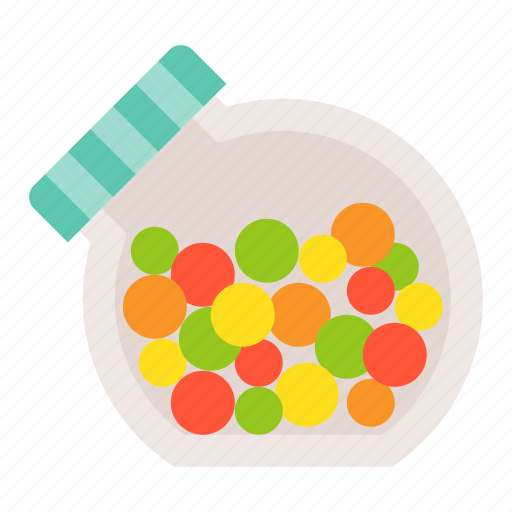 candy, candy jar, dessert, food, sweets icon