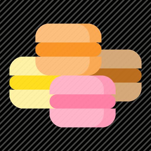 dessert, food, macaron, sweets icon