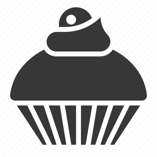 cupcake, desser, food, muffin, sweets icon