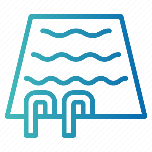 pool, sport, swimming icon
