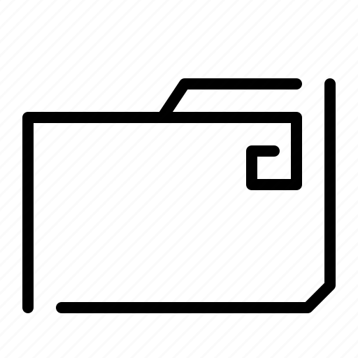 binder, case, file, folder, portfolio icon