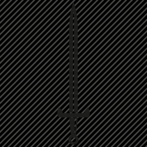 Blade, knife, rapier, saber, sword, weapon icon - Download on Iconfinder