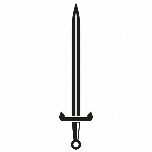 blade, knife, rapier, saber, sword, weapon icon