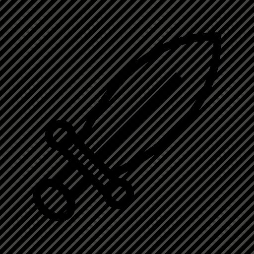 activity, fencing, sword icon