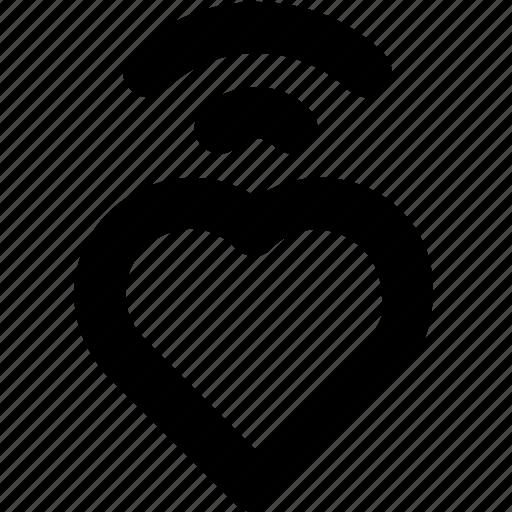 emoji, heart, heartbeat, love, pulse icon