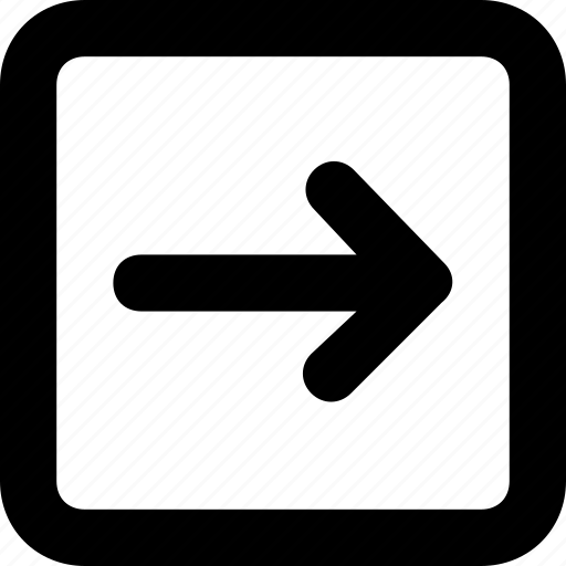 arrow, directional, forward, left, next icon