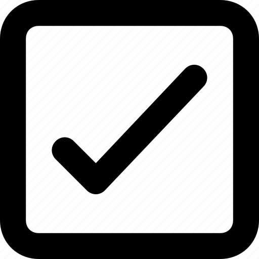 approved, check mark, checklist, done, tick icon