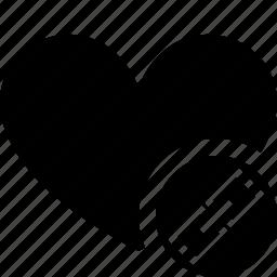 bookmark, favorites, heart, like, link, love icon