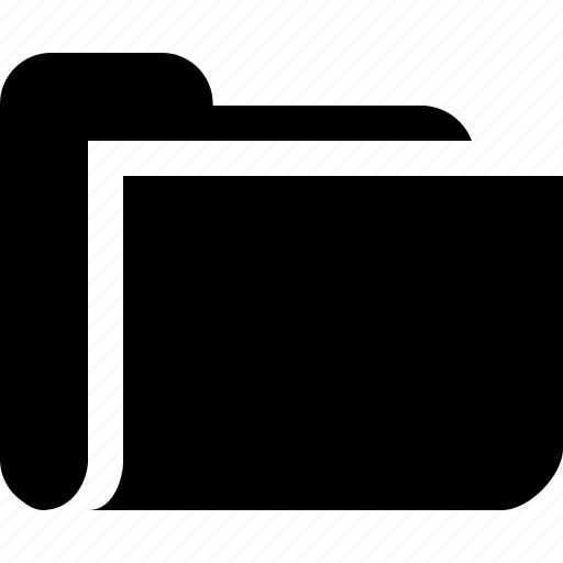 category, file, folder, open icon