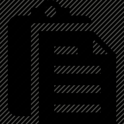 clipboard, copy, paste, task icon