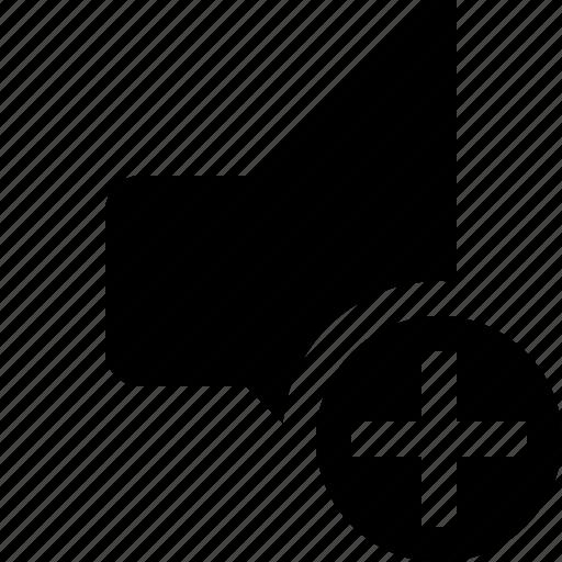 add, audio, music, sound, speaker, volume icon