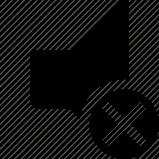 audio, cancel, music, sound, speaker, volume icon