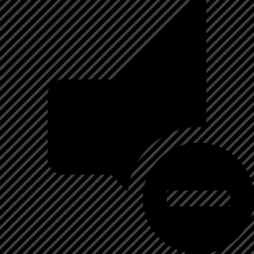 audio, music, sound, speaker, stop, volume icon