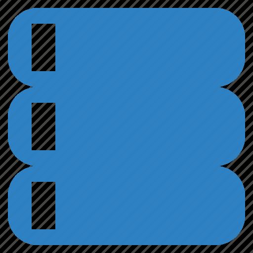 Data, database, storage, server icon