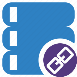 data, database, link, server, storage icon