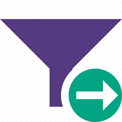 filter, funnel, next, sort, tools icon