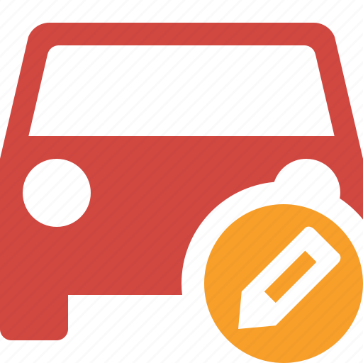 auto, car, edit, traffic, transport, vehicle icon
