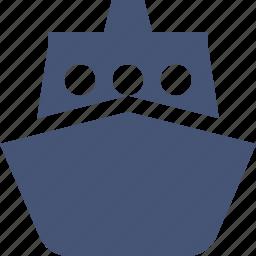 cruise, sea, ship, transport, travel, vessel icon