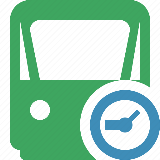 clock, delivery, railway, train, transport, travel icon