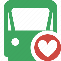 delivery, favorites, railway, train, transport, travel icon