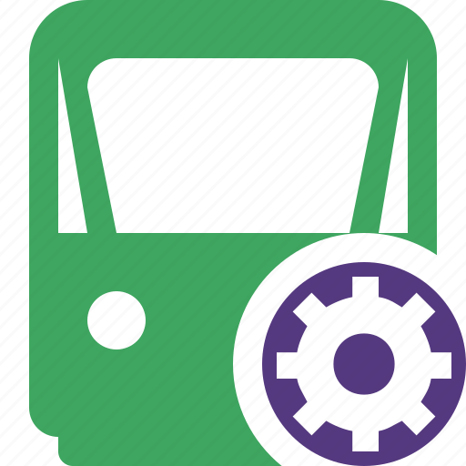 delivery, railway, settings, train, transport, travel icon