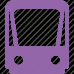 public, train, tram, tramway, transport icon