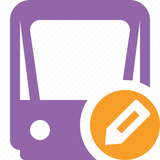 edit, public, train, tram, tramway, transport icon