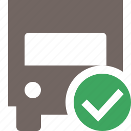 delivery, ok, transport, transportation, truck, vehicle icon