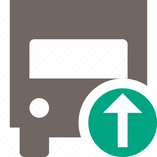 delivery, transport, transportation, truck, upload, vehicle icon