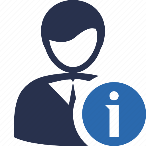 account, business, client, information, office, user icon