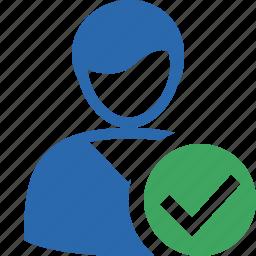 account, client, male, ok, profile, user icon