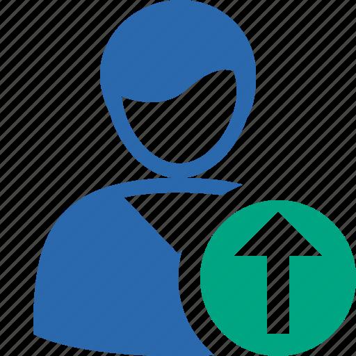 account, client, male, profile, upload, user icon
