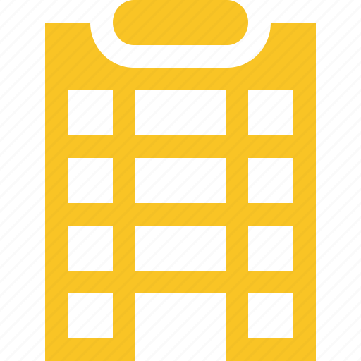 building, city, hotel, office, travel, vacation icon