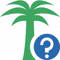 help, palmtree, travel, tree, tropical, vacation icon