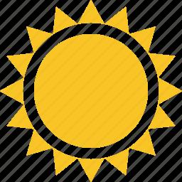 summer, sun, sunny, travel, vacation, weather icon