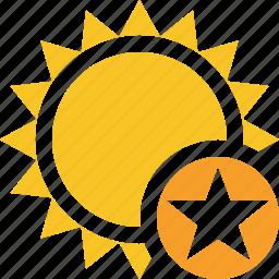 star, summer, sun, sunny, travel, vacation, weather icon