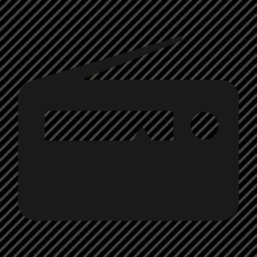 Audio, fm, radio icon - Download on Iconfinder on Iconfinder