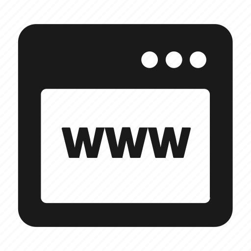 page, web, www icon