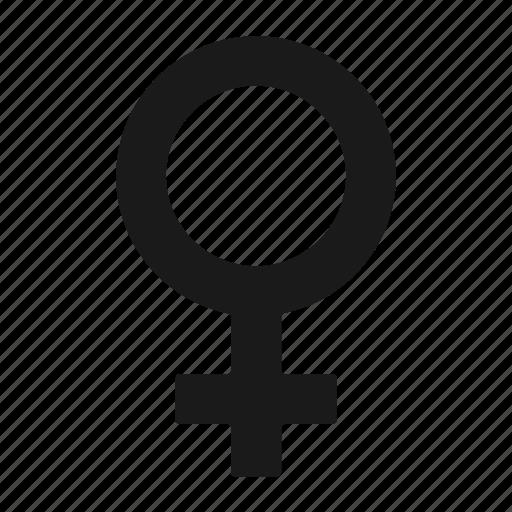 Female, gender, sex icon - Download on Iconfinder