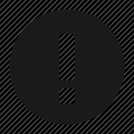 alert, error, message icon
