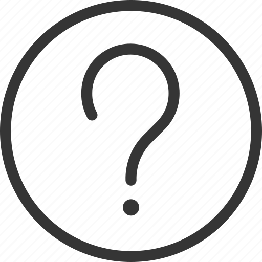 Ask, circle, questionmark, round icon - Download on Iconfinder