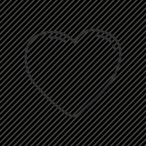affection, emoji, feelings, heart, love, romance, valentines icon
