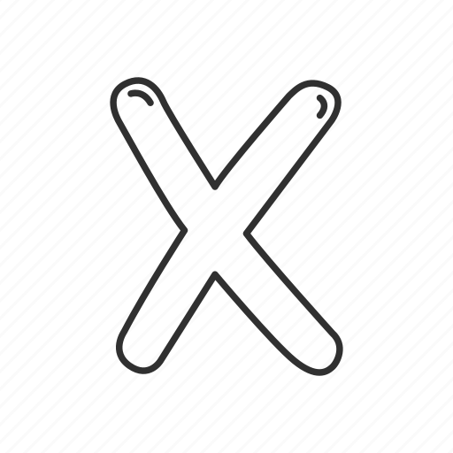 delete, emoji, math, math symbol, multiplication symbol, multiply, x icon