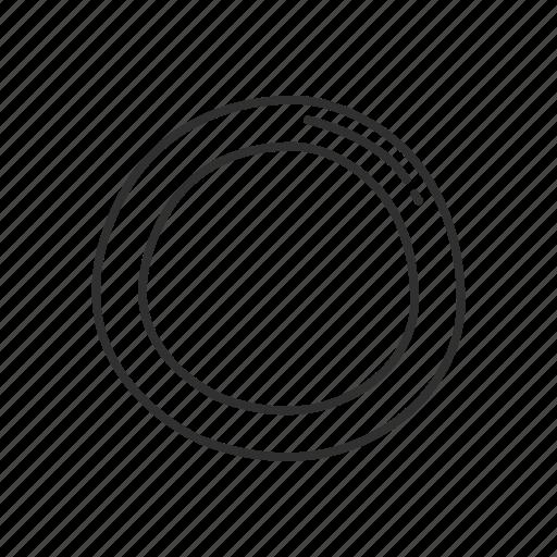 blank, circle, circle symbol, circular, emoji, round, zero icon