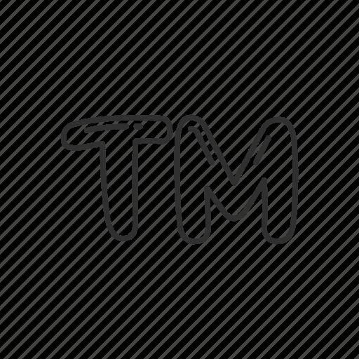 business, emoji, registered, tm, trade mark, trademark sign, trademark symbol icon