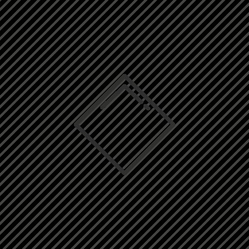 baseball, diamond, emoji, geometry, rhomb, rhombus, shape icon