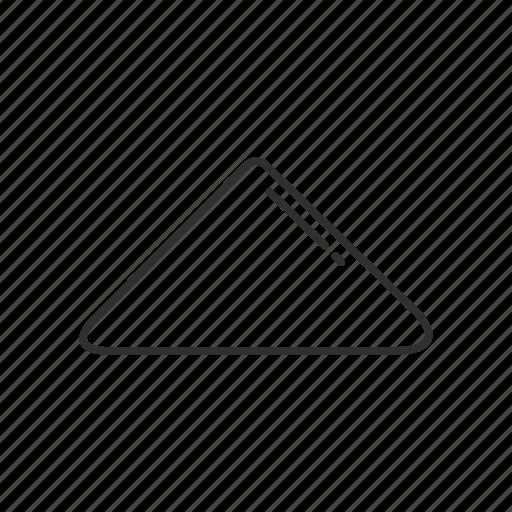 arrow, arrow up, emoji, geometry, shape, triangle, up icon
