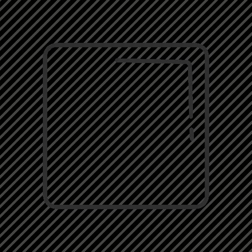 box, cartoon, cube, emoji, geometry, shape, square icon