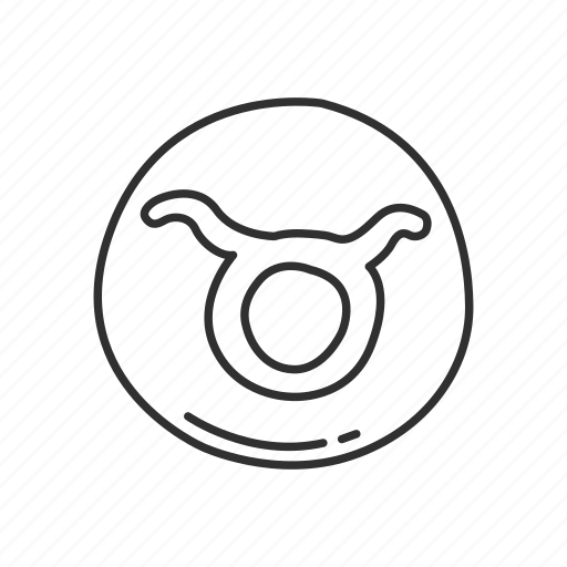 emoji, sign, squared taurus, taurus, taurus symbol, zodiac, zodiac sign icon