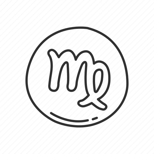 emoji, sign, squared virgo, virgo, virgo symbol, zodiac, zodiac sign icon